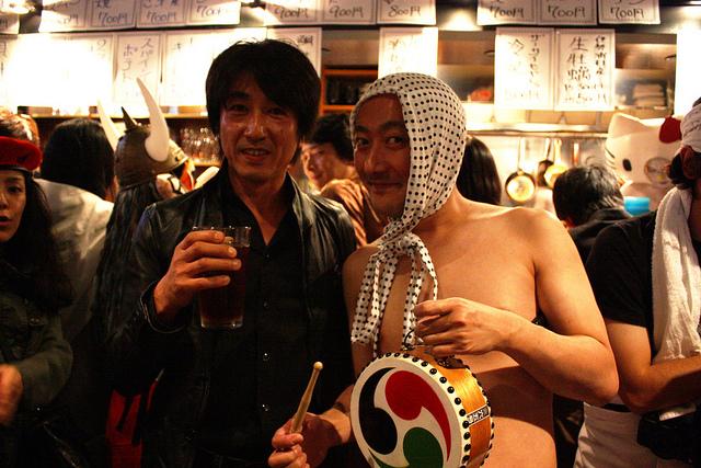 HOPMAN田代店長(右)と弊社社長の岩本(左)
