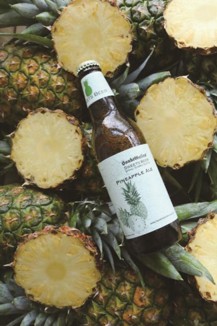 600Kgのパイナップル使用ビール 「パイナップルエール」 4/25リニューアル発売