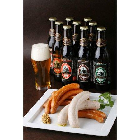 金賞ビール&日本一ウインナーB(4〜5人前)