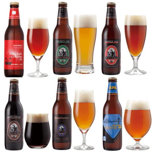 クラフトビール6種6本飲み比べセット<ハロウィンラベル ビール入>