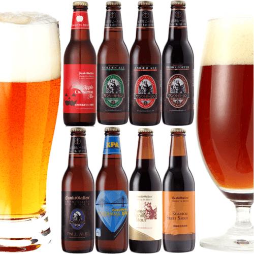 クラフトビール8種8本飲み比べセット <ハロウィンラベルビール入>