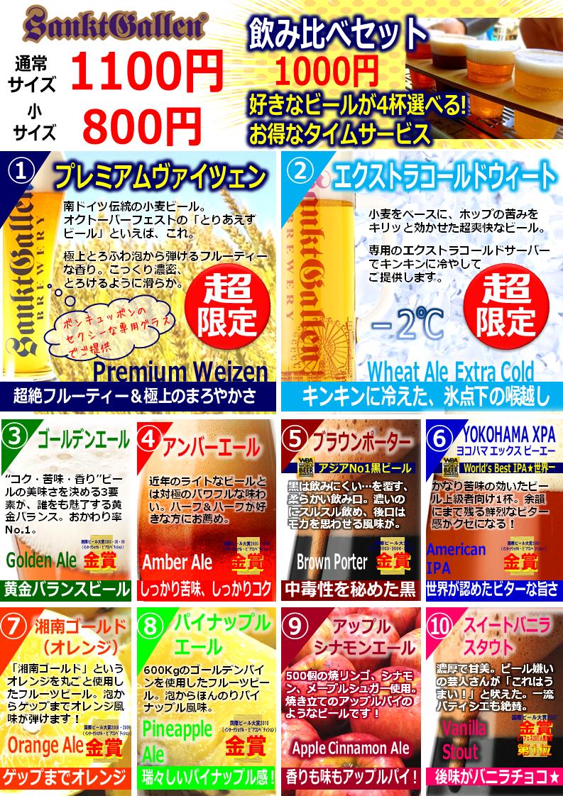 横浜オクトーバーフェストメニュー