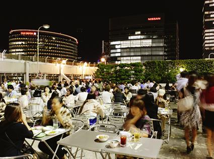 横浜そごう 海の見える屋上ビアガーデン<Beer hop>