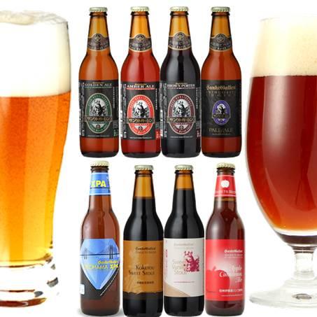 秋冬クラフトビール8種飲比べ