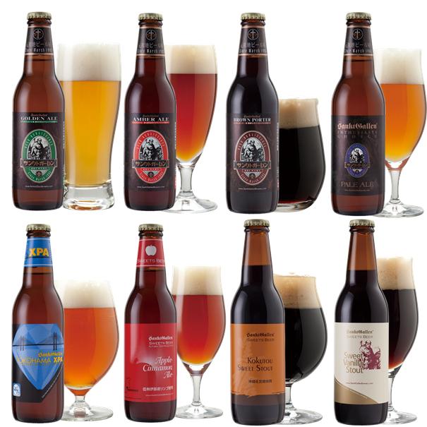 クラフトビール8種飲み比べ