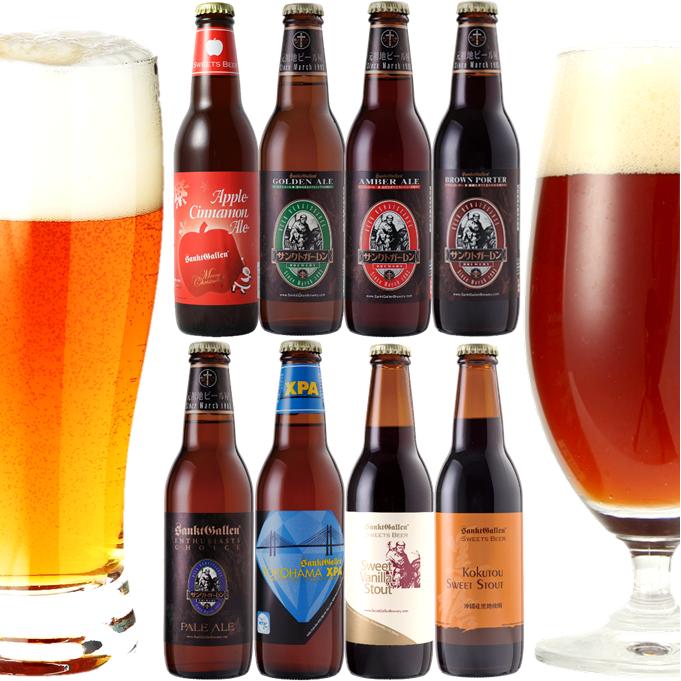 クラフトビール8種8本飲み比べセット <クリスマスラベルビール入>