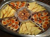 スモーク盛り合わせ(チーズ・エッグ・ナッツ)