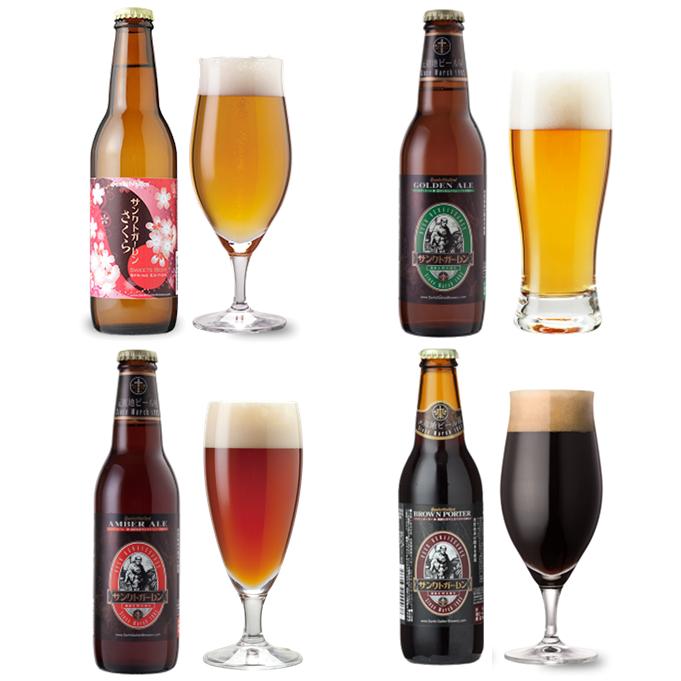 さくら入クラフトビール4種