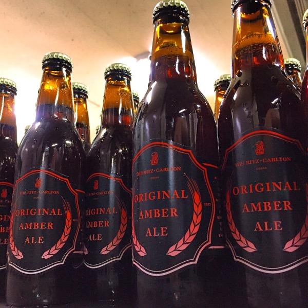 リッツカールトンオリジナルビール