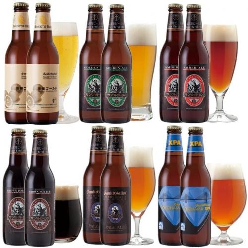 クラフトビール6種12本飲み比べセット