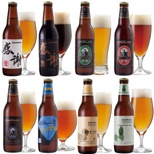 感謝ビール入8種飲み比べセット