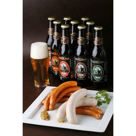 父の日ギフト「金賞ビール&日本一ウインナーB」