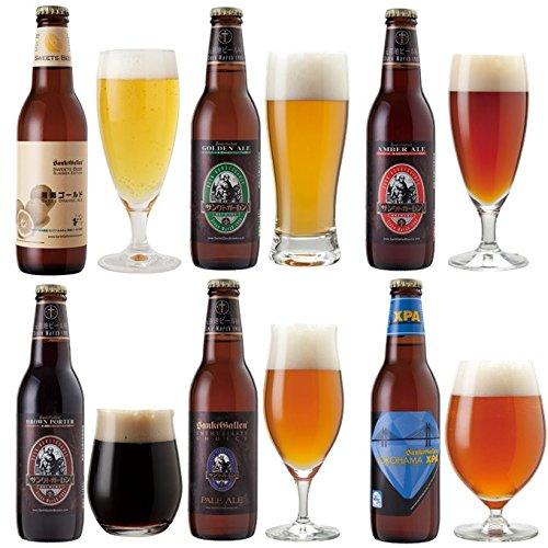 6種のクラフトビール飲み比べセット