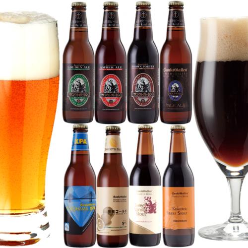クラフトビール8種飲み比べセット