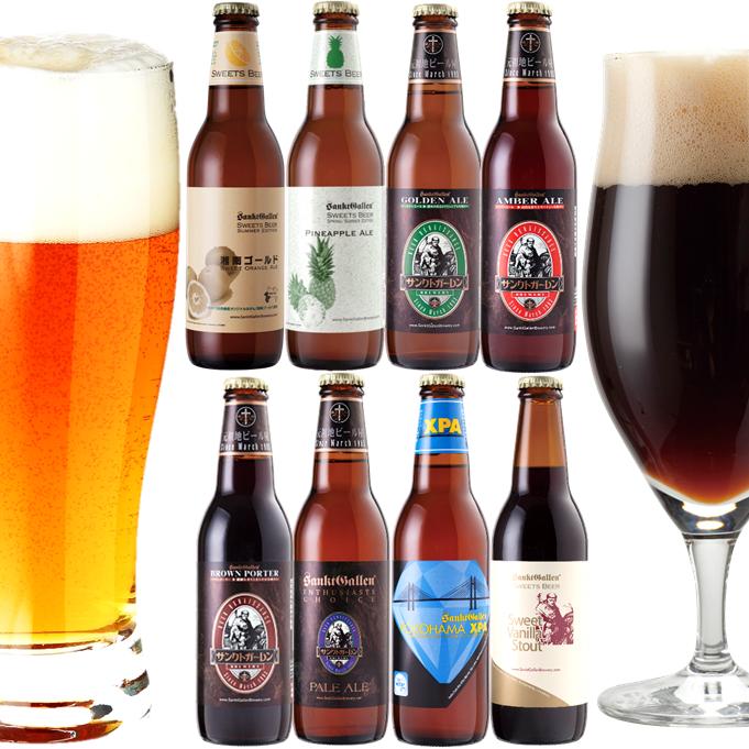地ビール8種飲み比べセット春夏Ver